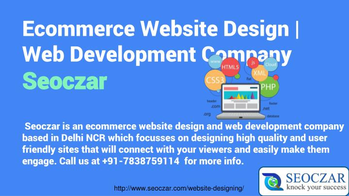 Ecommerce Website Design | Web Development Company
