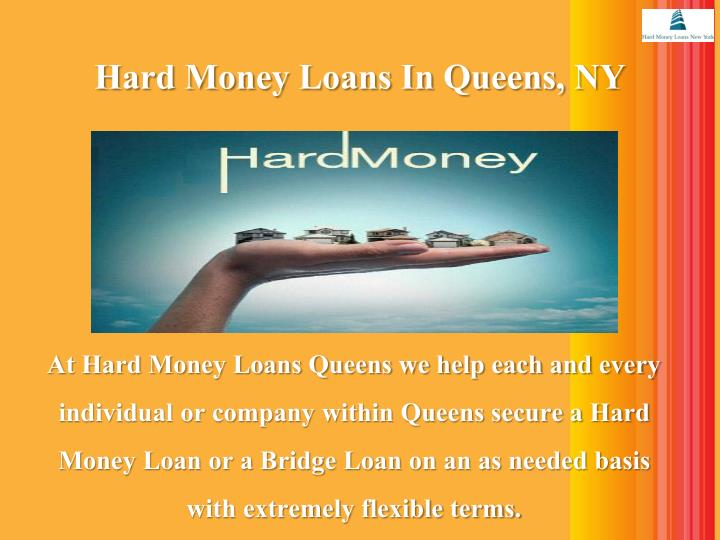Hard money loans in queens ny