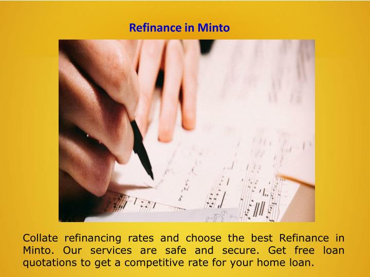 Refinance in Minto