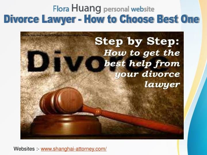 Divorce Lawyer - How to Choose Best One