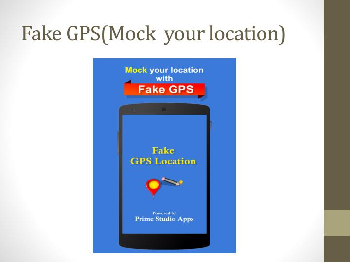 Fake gps mock your location