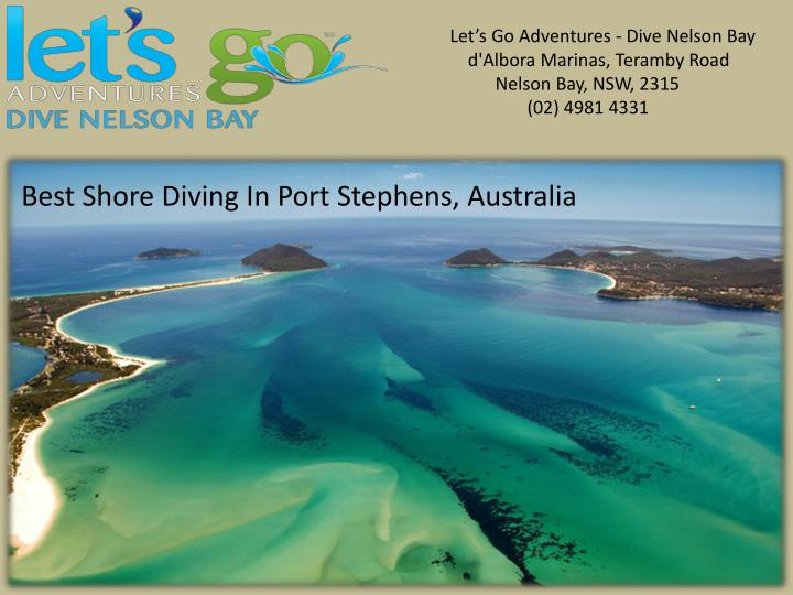 Let's Go Adventures - Dive Nelson Bay