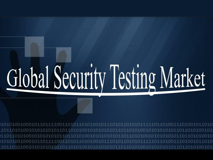 Global security testing market