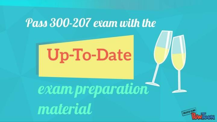 Examcollection 300 207 test