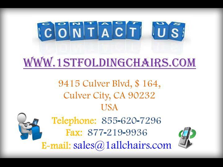 www.1stfoldingchairs.com