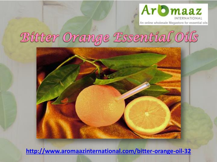 Bitter Orange Essential Oils