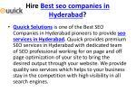 hire best seo companies in hyderabad