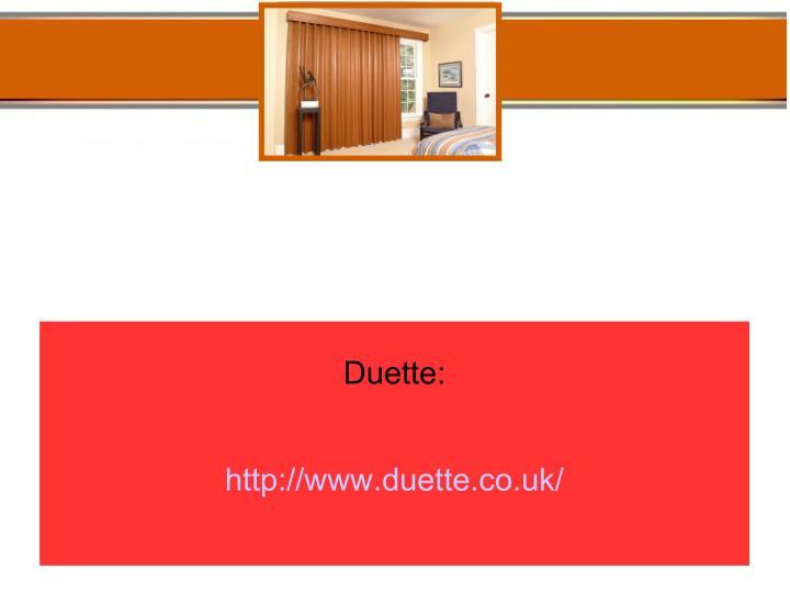 Duette:
