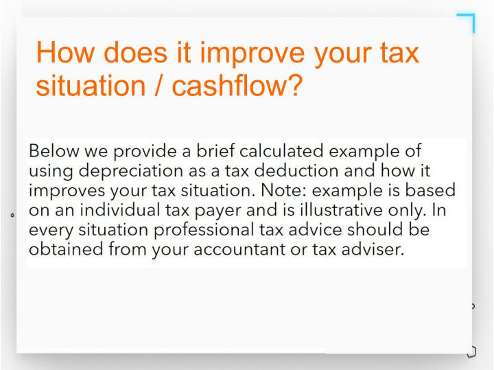 How does it improve your tax