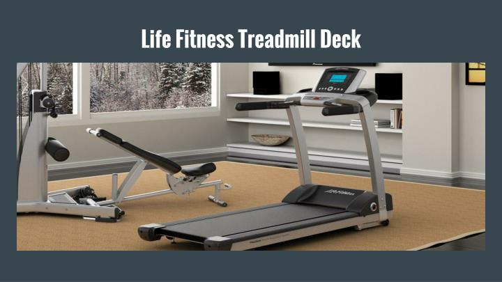 Life Fitness Treadmill Deck