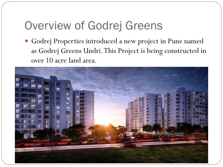 Overview of godrej greens
