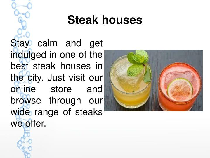 Steak houses