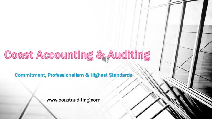 Coast Accounting & Auditing