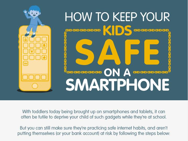 HOW TO KEEP YOUR ON A SMARTPHONE With toddlers today being brought up on