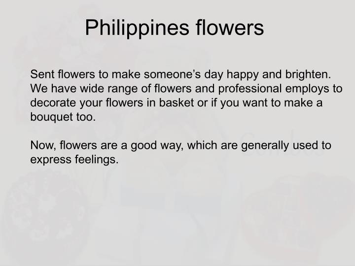 Philippines flowers