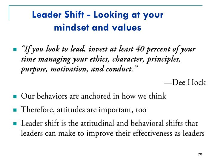 Leader Shift -