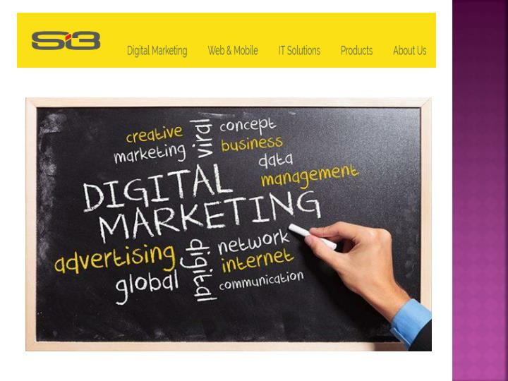 Digital marketing company dubai si3