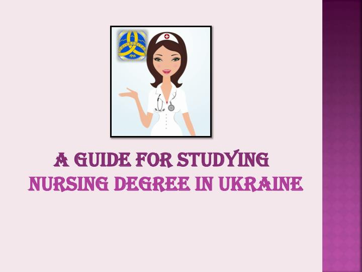 A Guide for Studying