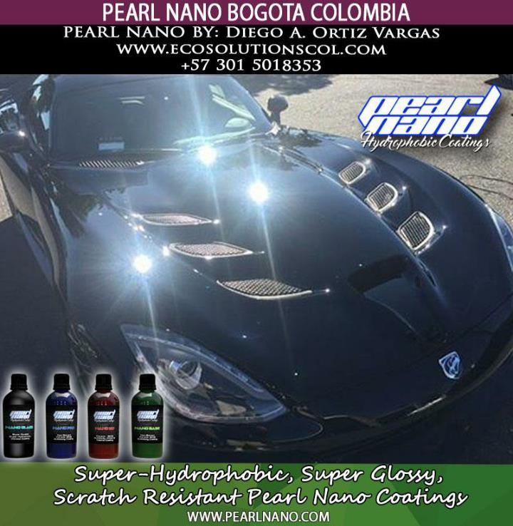Pearl nano coating by eco solutions in bogota colombia