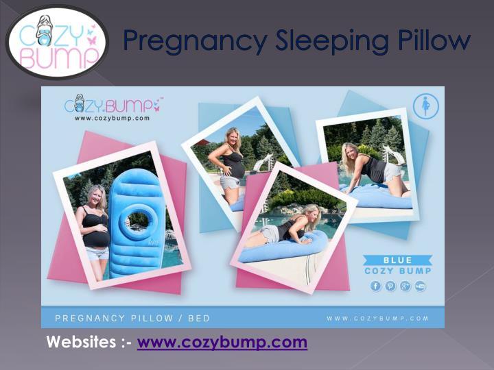 Pregnancy Sleeping Pillow