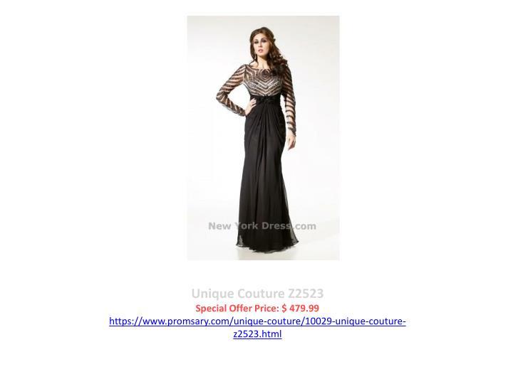 Unique Couture Z2523