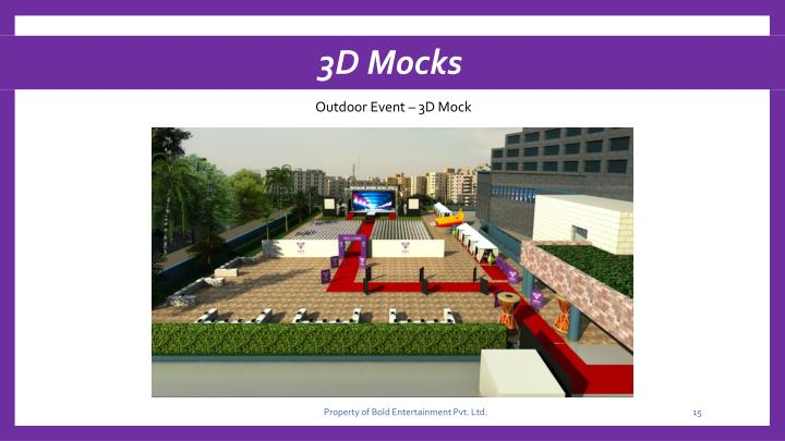 3D Mocks