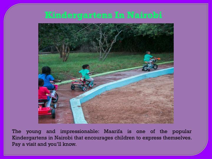 Kindergartens In Nairobi