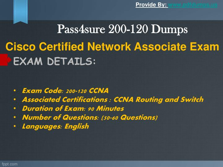 Pass4sure 200 120 dumps1