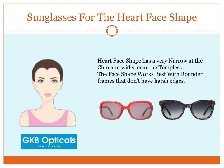Sunglasses For The Heart Face Shape