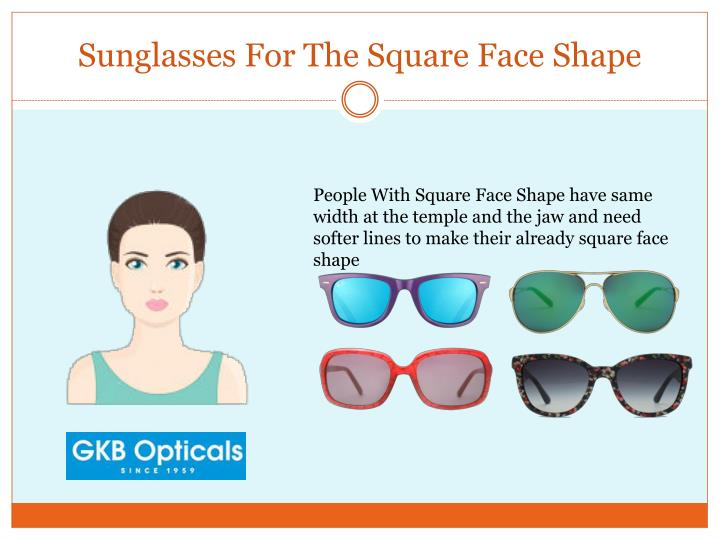Sunglasses For The Square Face Shape