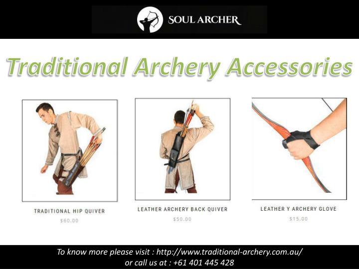 Traditional Archery Accessories