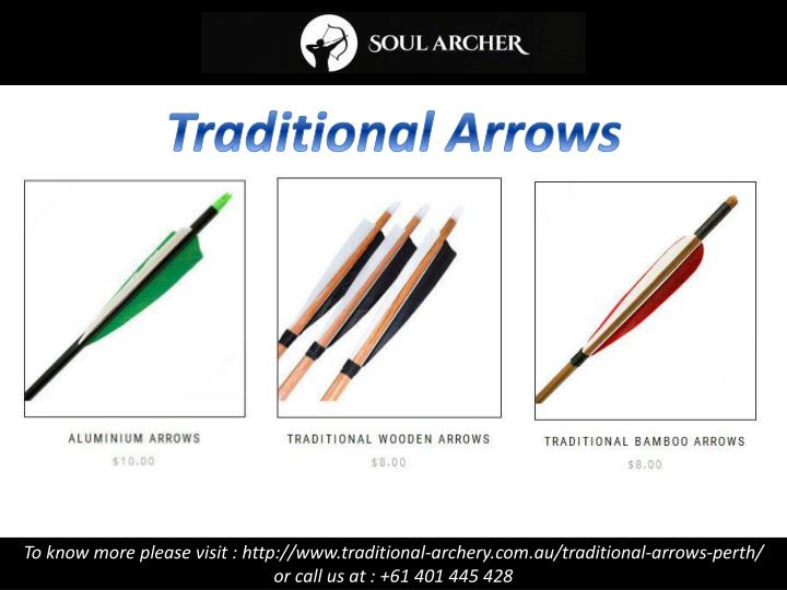 Traditional Arrows