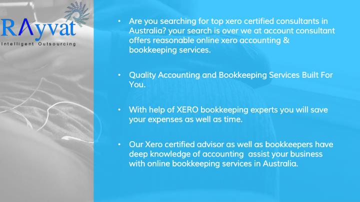Are you searching for top xero certified consultants in Australia? your search is over we at account...