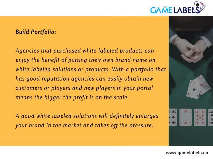 Build Portfolio: