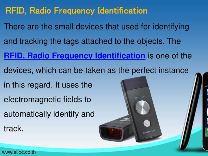 RFID, Radio Frequency Identification