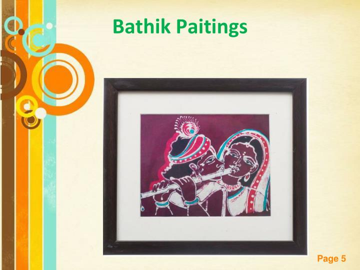 Bathik Paitings