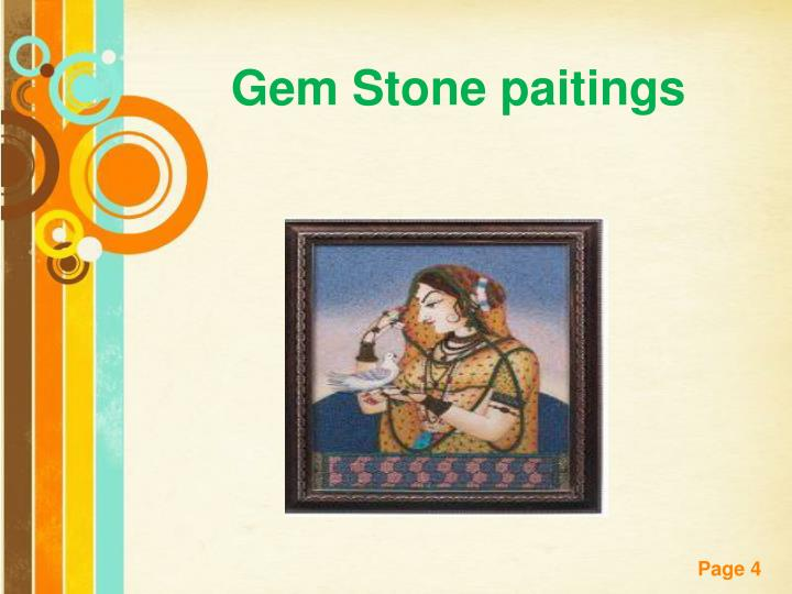 Gem Stone paitings