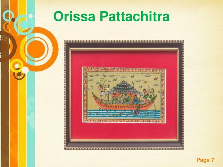 Orissa Pattachitra