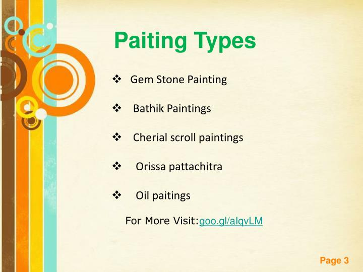 Paiting Types
