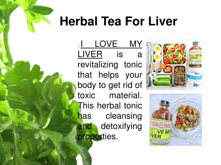 Herbal Tea For Liver
