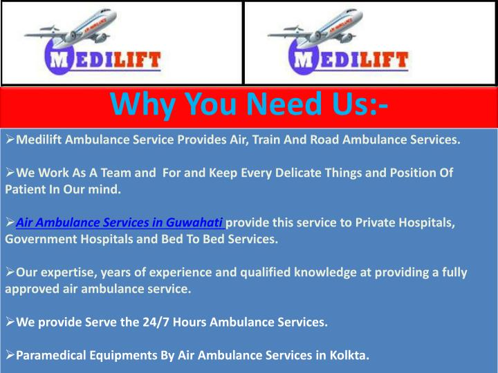 Why You Need Us:-