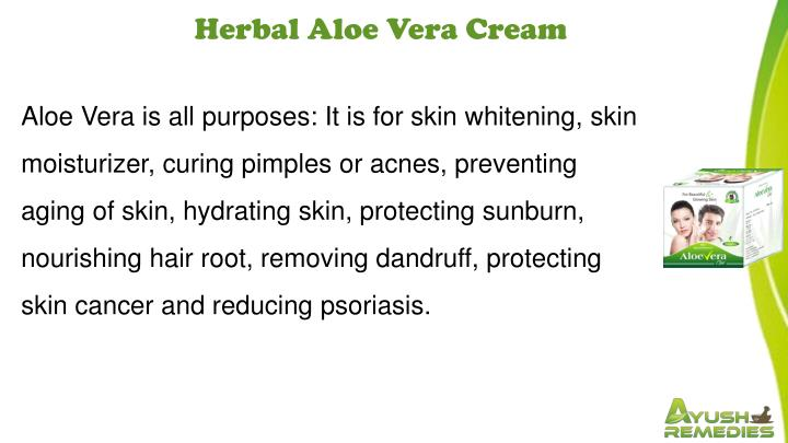 Herbal Aloe Vera Cream