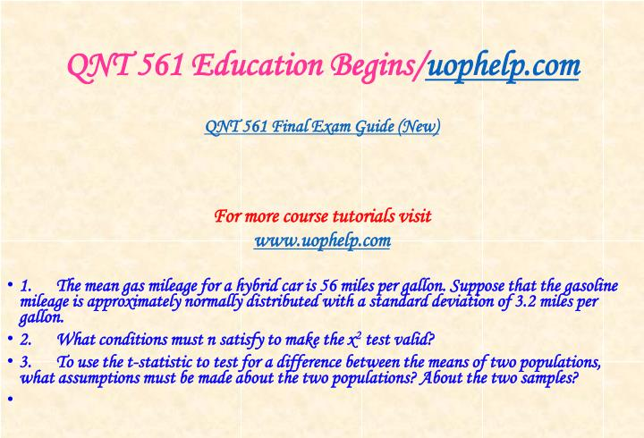 Qnt 561 education begins uophelp com1