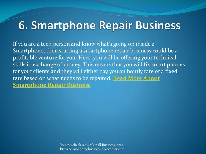 6. Smartphone Repair Business