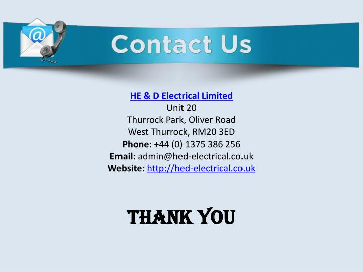 HE & D Electrical Limited