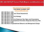 sec 480 outlet career path begins sec480outlet com1