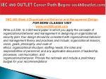 sec 480 outlet career path begins sec480outlet com10