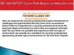 sec 480 outlet career path begins sec480outlet com12