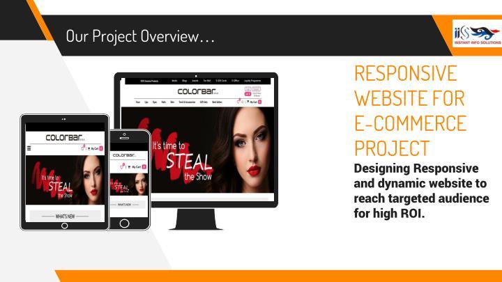RESPONSIVE WEBSITE FOR