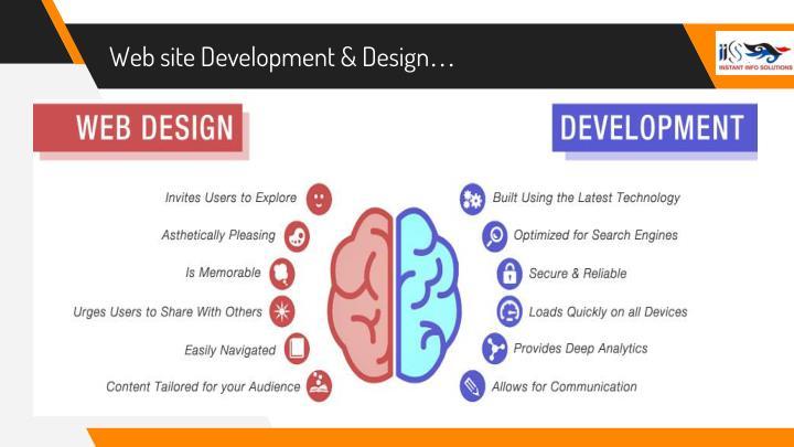Web site Development & Design…